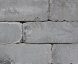 Linea getrommeld 15x15x60 cm donkergrijs