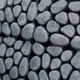 Keigrasstenen 45x45x10 cm grijs zwart