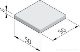 Betontegel 50x50x6 Grijs