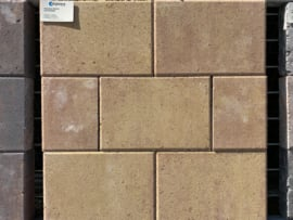 Straksteen 30x40 terracotta geel