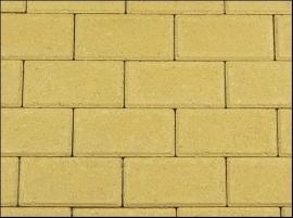 Betonklinker 8 cm geel