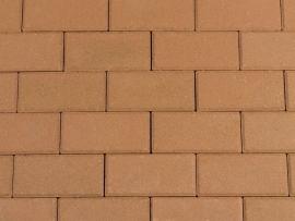 Halve betonklinker 8 cm Gasselterbruin