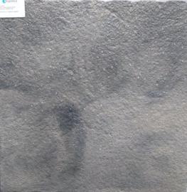 Chique tegel 60x60 Grijs Zwart Wave