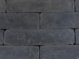 Linea getrommeld 15x15x60 cm antraciet