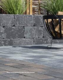 Nature Top Rusty Black betonklinker gecoat bss BKK 8 cm