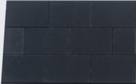 H2O Comfort Square 20x30x6 Black Emotion