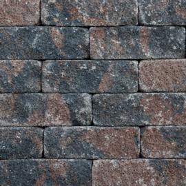 Splitrocks XL 15x15x60 Bruin Zwart Getrommeld