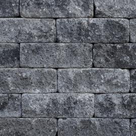 Splitrocks XL 15x15x60 Grijs/Zwart Getrommeld