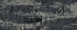 Splitrocks XL 15x15x60 blok grijs zwart