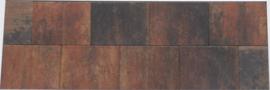 Straksteen 30x40 bruin gevlamd