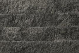 Splitrocks 11x13x32 grijs zwart (per laag, 16 stuks)