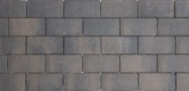 Design Brick 8 cm Dark Sepia mini facet deklaag