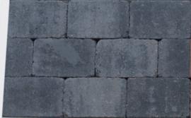 Trommelkassei 20x30x6 grijs zwart
