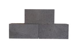 Linea strak 15x15x30 cm antraciet