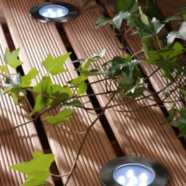 Garden Lights Brevus wit licht