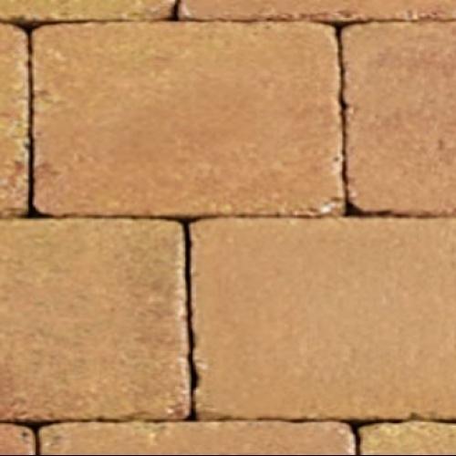 Trommelkassei 20x30x6 terracotta geel