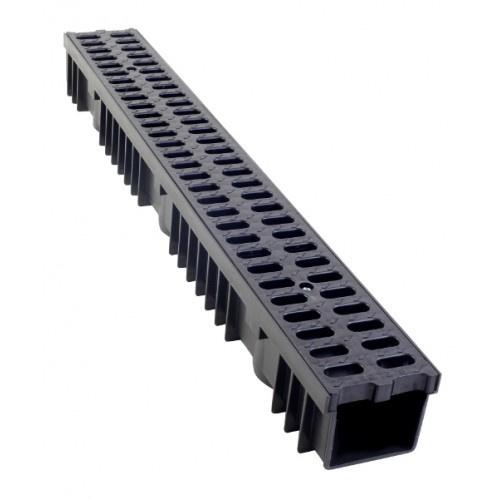 Queen line Ultra Drain watergoot black