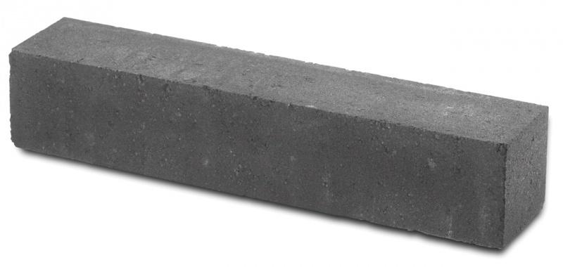 Linea strak 15x15x60 cm antraciet