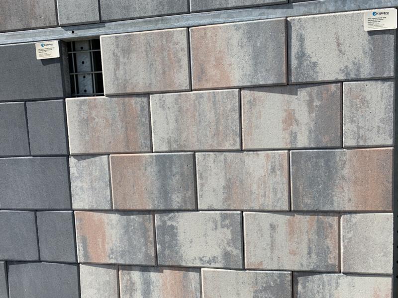 H2O Design Square 20x60 Cloudy Trias Emotion