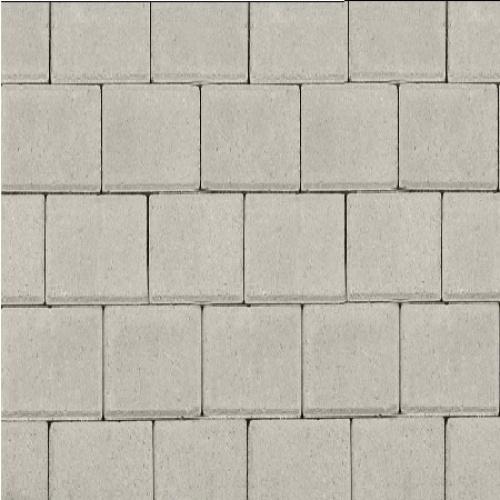 Halve betonklinker 8 cm grijs
