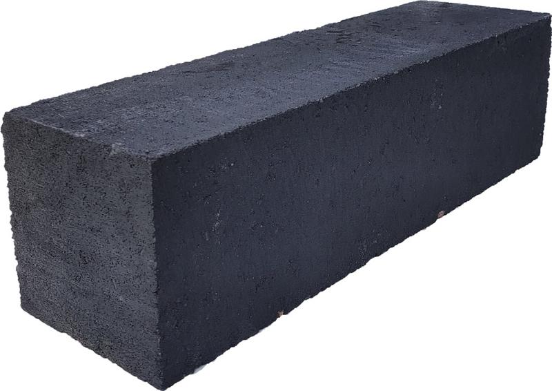 Linea strak 12,5x12,5x45 cm antraciet