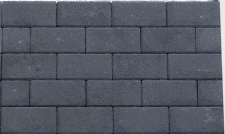 Nature Top BLACK betonklinker gecoat bss BKK 8 cm