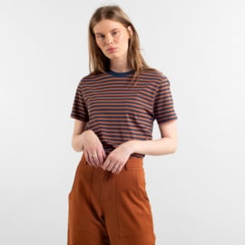 Mysen Stripes Mocha Brown