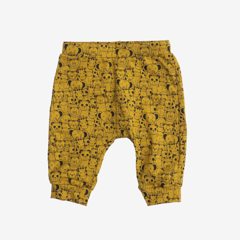 Animals Pants Mustard