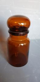Apothekerspot, bruin, 0,4 L