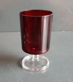 Luminarc Cavalier rood wijnglas groot.