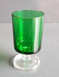 Luminarc Cavalier groen wijnglas groot.