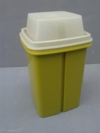 Tupperware zuurpot, groen.