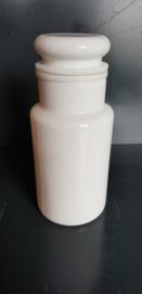 Apothekerspot, wit platte dop, 0,9 L