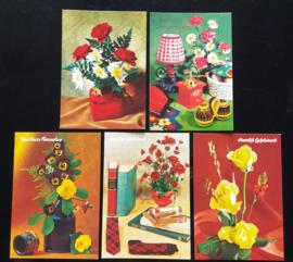 Set van vijf kaarten (01).