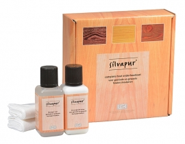 Silvapur® complete care set for oiled and waxed wooden surfaces