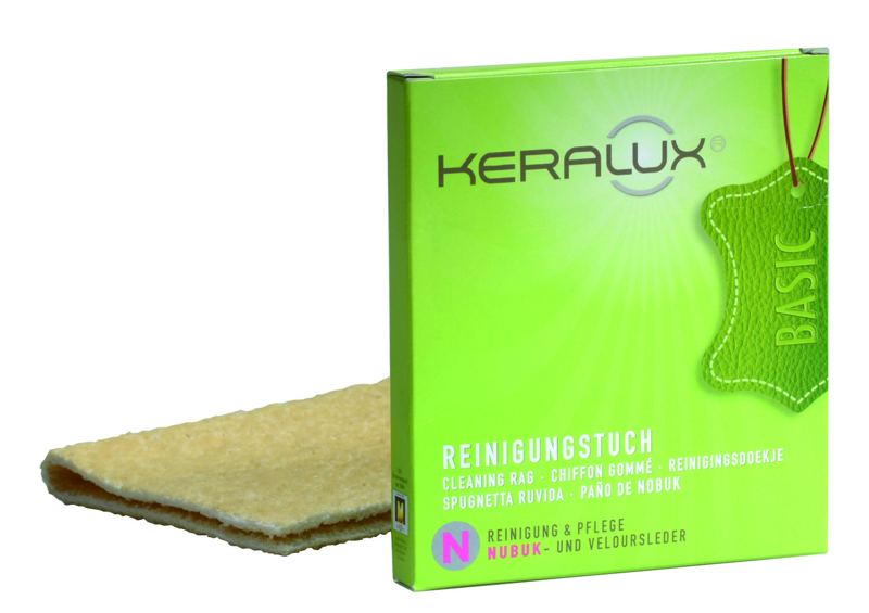 Keralux® cleaning cloth for nubuck