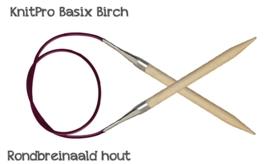 Houten rondbreinaalden KnitPro - 2 mm t/m 15 mm