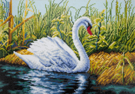 Diamond Painting - Zwaan
