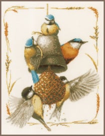 Vogel Voedertijd - Marjolein Bastin
