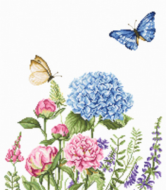 Zomerbloemen en Vlinders