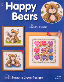 Happy Bears - Jeanette Crews Designs