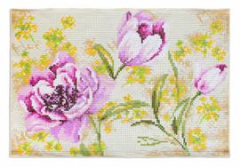 Decoratieve mat of kleedje - Bloemen