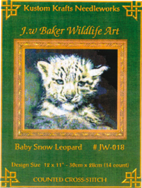 Baby Snow Leopard - Kustom Krafts