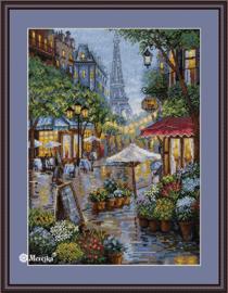 Regenachtig Parijs - Merejka