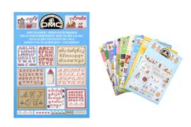 DMC - borduurboekjes