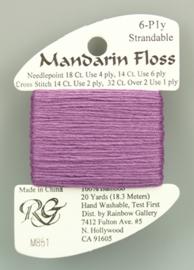 Mandarin Floss - Bamboe 6-draads garen