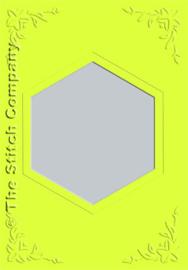 Passe-partout - zeshoek - per 3 stuks