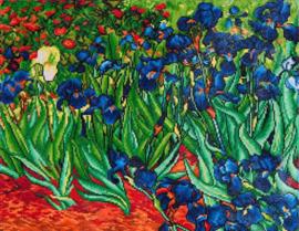 Irissen van Van Gogh