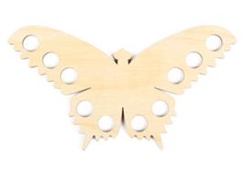 Houten garenhouder Vlinder