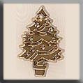 Kerstboom - goudkleurig